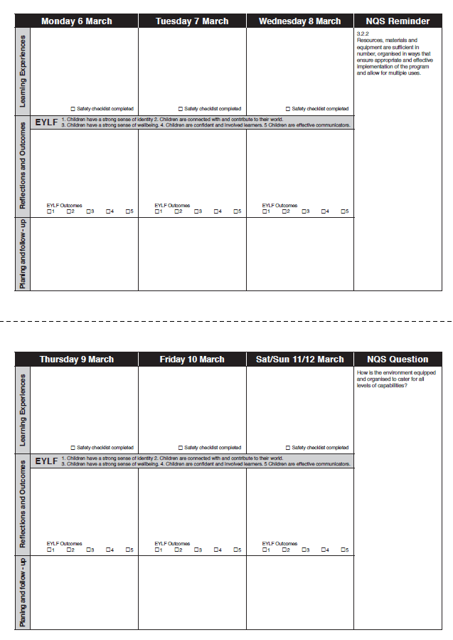 fax template pages