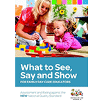 What to See, Say and Show