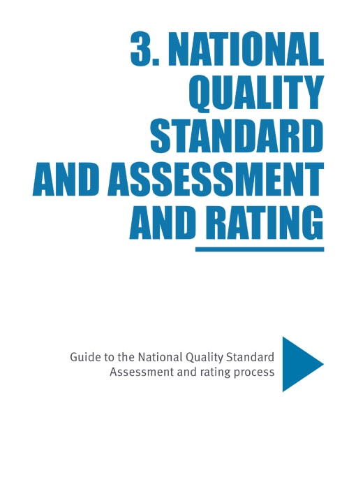 Guide to the NQF 3 Assessment and rating